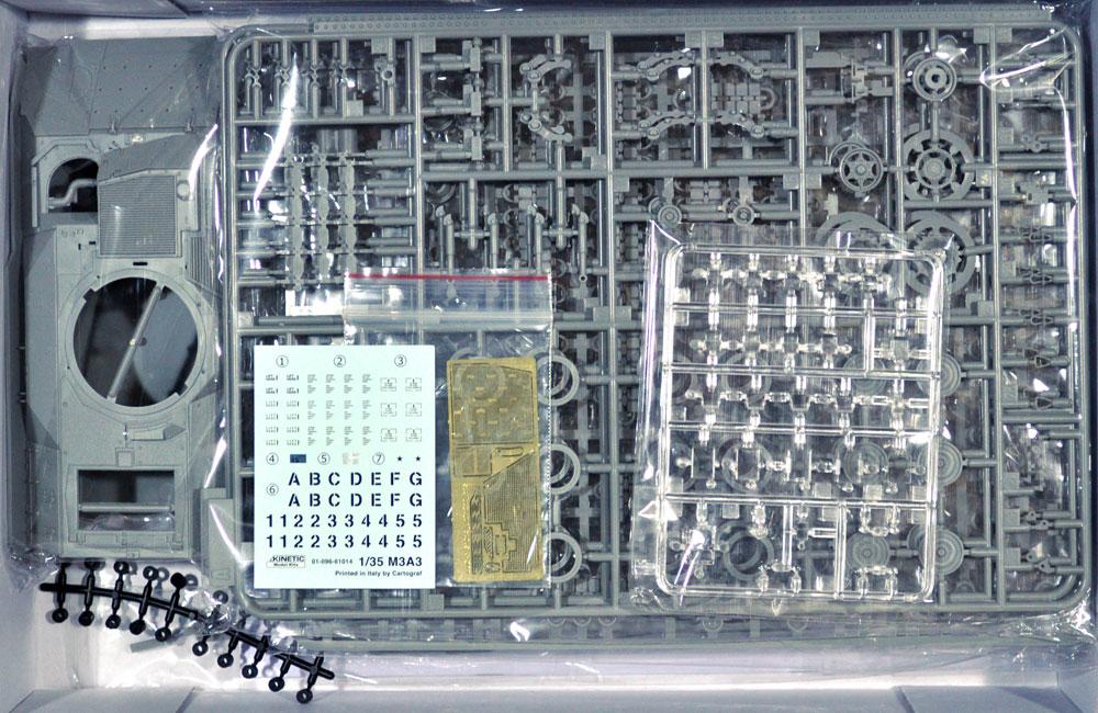 M3A3 ブラッドレー 騎兵戦闘車プラモデル(キネティック1/35 AFVキットNo.K61014)商品画像_1