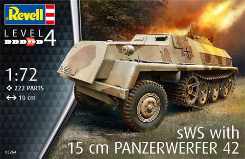 sWS 15cm パンツァーヴェルファー 42プラモデル(レベル1/72 ミリタリーNo.03264)商品画像