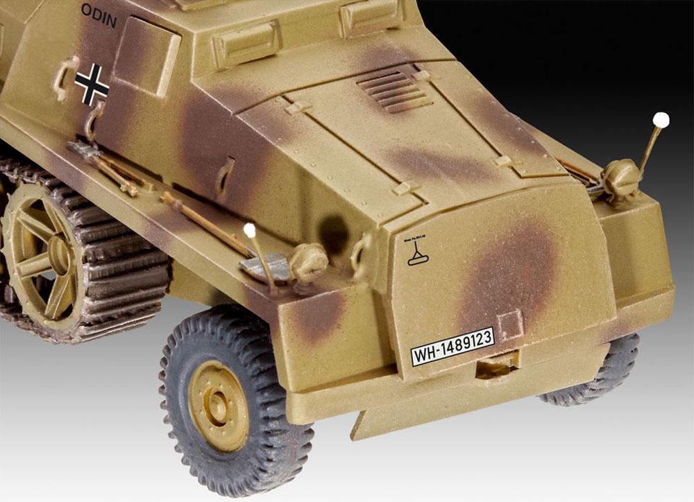 sWS 15cm パンツァーヴェルファー 42プラモデル(レベル1/72 ミリタリーNo.03264)商品画像_3