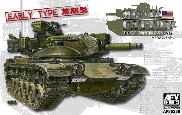 M60A2 パットン 前期型プラモデル(AFV CLUB1/35 AFV シリーズNo.AF35238)商品画像