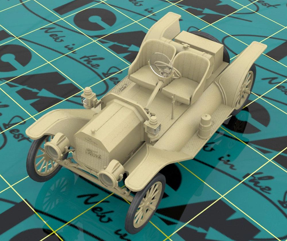 T型フォード 1913 スピードスタープラモデル(ICM1/24 カーモデルNo.24015)商品画像_2