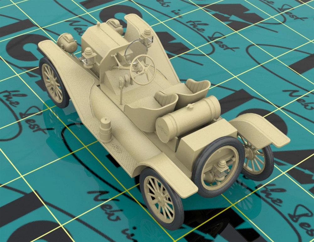 T型フォード 1913 スピードスタープラモデル(ICM1/24 カーモデルNo.24015)商品画像_3