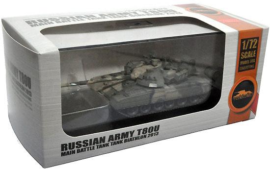ロシア T-80U 主力戦車 戦車バイアスロン 2013年完成品(モデルコレクト1/72 AFV 完成品モデルNo.MODAS72086)商品画像