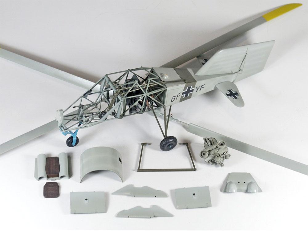 FL282 V-6 コリブリプラモデル(ミニアートエアクラフトミニチュアシリーズNo.41001)商品画像_2
