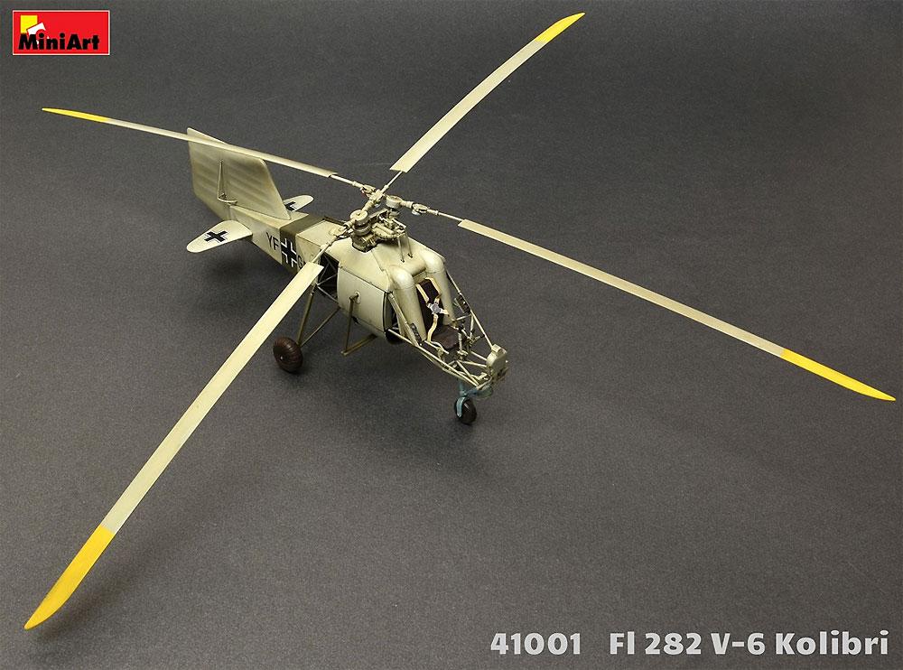 FL282 V-6 コリブリプラモデル(ミニアートエアクラフトミニチュアシリーズNo.41001)商品画像_3