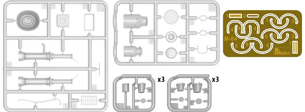 ウォーターポンプセットプラモデル(ミニアート1/35 ビルディング&アクセサリー シリーズNo.35578)商品画像_1
