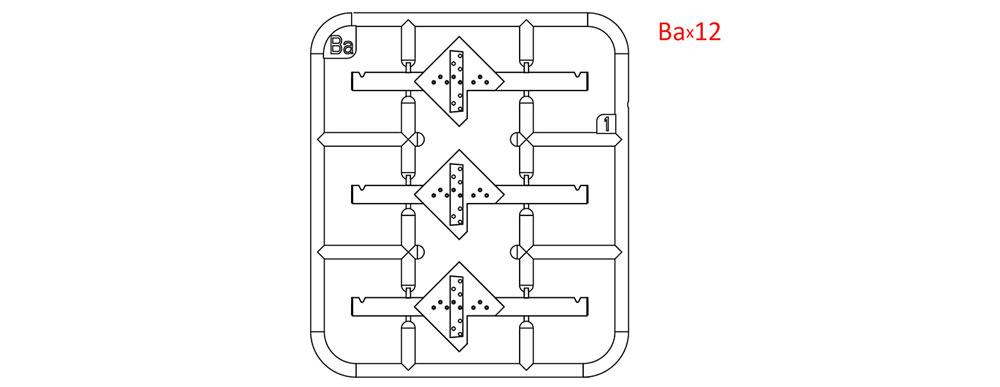 対戦車用 障害物プラモデル(ミニアート1/35 ビルディング&アクセサリー シリーズNo.35579)商品画像_1