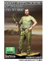 DEF. MODEL1/35 フィギュアアメリカ陸軍 戦車長 ジョー・ガン軍曹 サハラ 1941
