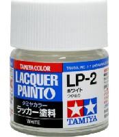 タミヤタミヤ ラッカー塗料LP-2 ホワイト