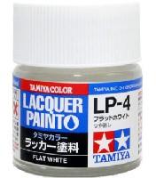 タミヤタミヤ ラッカー塗料LP-4 フラットホワイト