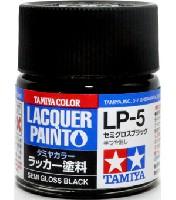 タミヤタミヤ ラッカー塗料LP-5 セミグロスブラック
