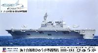 海上自衛隊 ひゅうが型護衛艦 DDH-181 ひゅうが P-1、P-3C哨戒機 各1機付き 特別限定版
