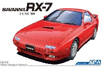 アオシマ1/24 ザ・モデルカーマツダ FC3S サバンナ RX-7 '89