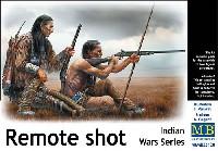 マスターボックス1/35 ミリタリーミニチュア長距離射撃 (インディアン戦争)