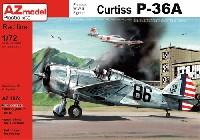 AZ model1/72 エアクラフト プラモデルカーチス P-36A