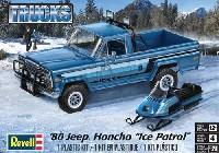 レベルカーモデル'80 ジープ HONCHO アイスパトロール