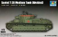 ソビエト T-28 多砲塔戦車 (溶接型)