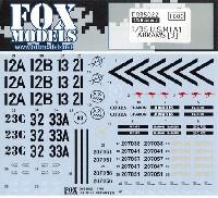 フォックスモデル (FOX MODELS)AFVデカールアメリカ M1A1戦車 エイブラムス デカール 3