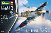 レベル1/72 飛行機スピットファイア Mk.5b