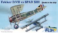 フォッカー D.7 vs スパッド13 (4機セット)