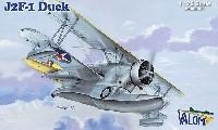 バロムモデル1/72 エアクラフト プラモデルJ2F-1 ダック 水陸両用機 初期型