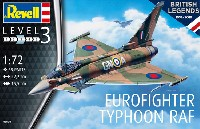 レベル1/72 飛行機ユーロファイター タイフーン RAF