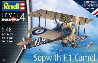 レベル1/48 飛行機モデルソッピース F.1 キャメル