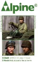 WW2 アメリカ ジープドライバー (冬季)