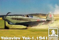 ブレンガン1/144 Plastic kits (プラスチックキット)ヤコブレフ Yak-1 1941