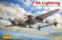 RSモデル1/72 エアクラフト プラモデルF-5A ライトニング