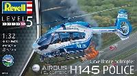 レベル1/32 Aircraftエアバスヘリコプターズ H145 警察ヘリコプター