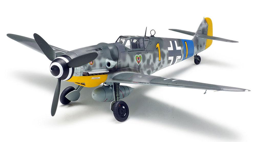 メッサーシュミット Bf109G-6プラモデル(タミヤ1/48 傑作機シリーズNo.117)商品画像_2