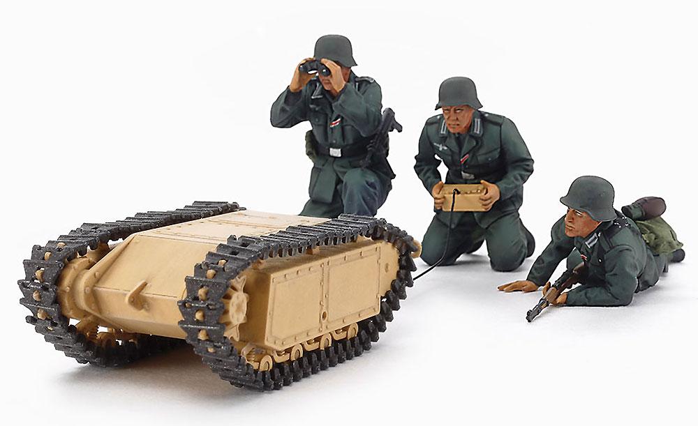 ドイツ 突撃工兵チーム ゴリアテセットプラモデル(タミヤ1/35 ミリタリーミニチュアシリーズNo.357)商品画像_2