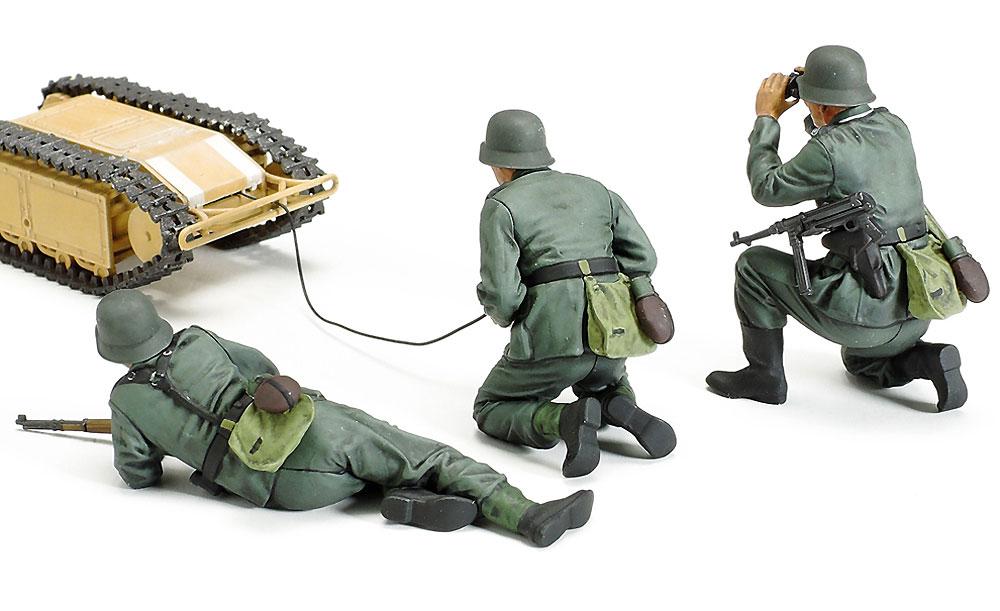 ドイツ 突撃工兵チーム ゴリアテセットプラモデル(タミヤ1/35 ミリタリーミニチュアシリーズNo.357)商品画像_3
