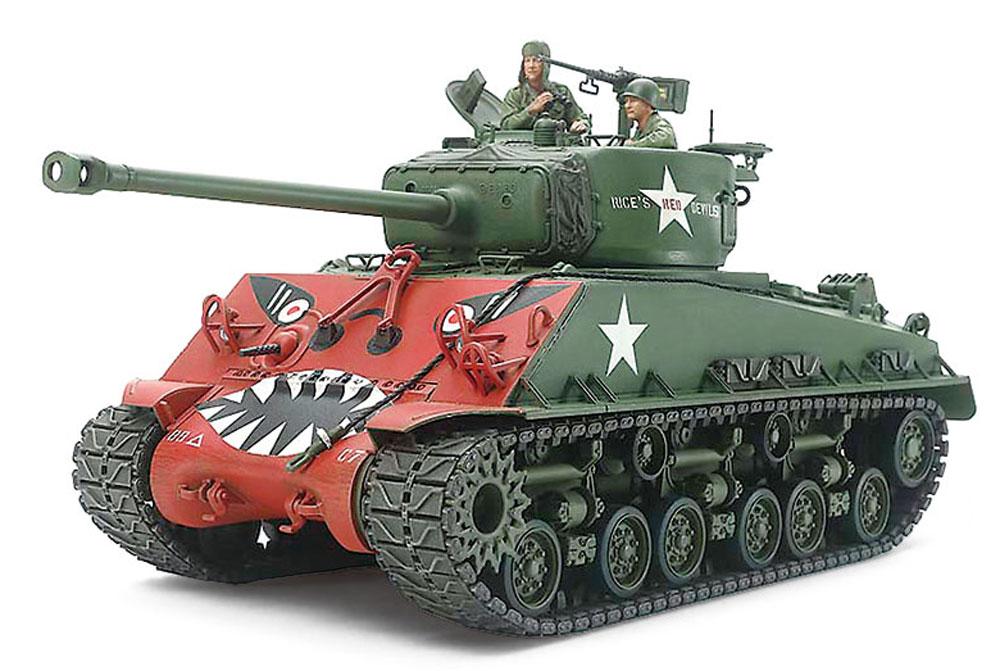 アメリカ戦車 M4A3E8 シャーマン イージーエイト (朝鮮戦争)プラモデル(タミヤ1/35 ミリタリーミニチュアシリーズNo.359)商品画像_2