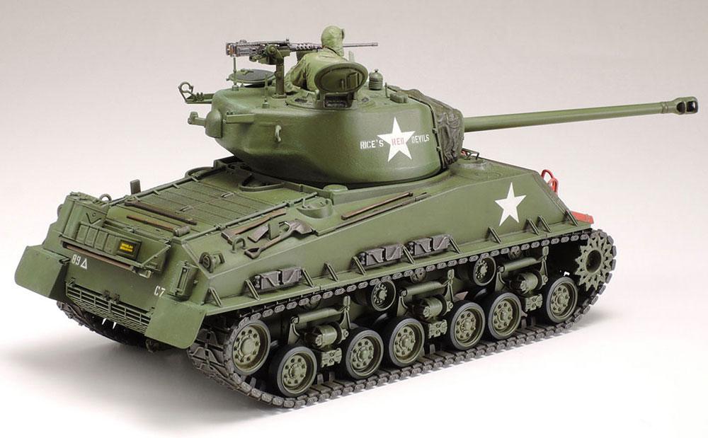 アメリカ戦車 M4A3E8 シャーマン イージーエイト (朝鮮戦争)プラモデル(タミヤ1/35 ミリタリーミニチュアシリーズNo.359)商品画像_3