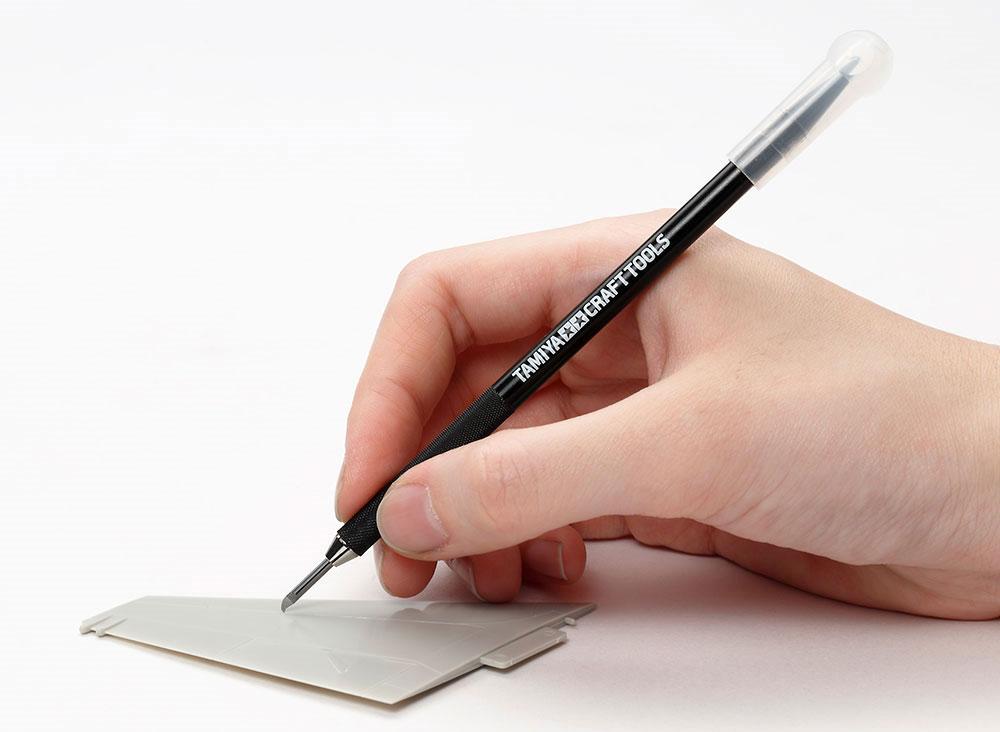 スジ彫り超硬ブレード 0.1mm超硬ブレード(タミヤタミヤ クラフトツールNo.135)商品画像_2
