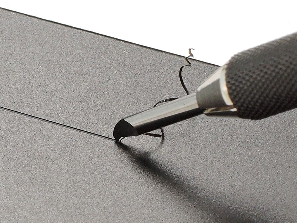 スジ彫り超硬ブレード 0.1mm超硬ブレード(タミヤタミヤ クラフトツールNo.135)商品画像_4