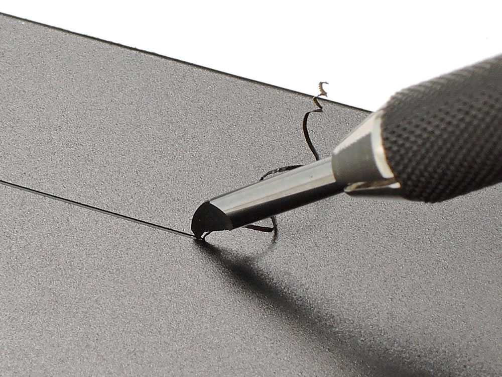スジ彫り超硬ブレード 0.5mm超硬ブレード(タミヤタミヤ クラフトツールNo.138)商品画像_4