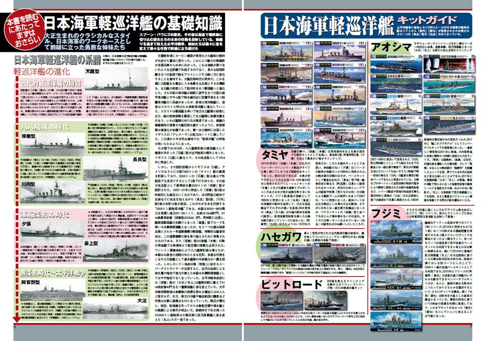 日本海軍軽巡洋艦 1/700 マスターモデリングガイド本(大日本絵画船舶関連書籍No.23232)商品画像_2