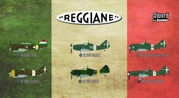 レジアーネ 戦闘機 リミテッドエディション (6キット入りセット)プラモデル(ソード1/72 エアクラフト プラモデルNo.72110)商品画像