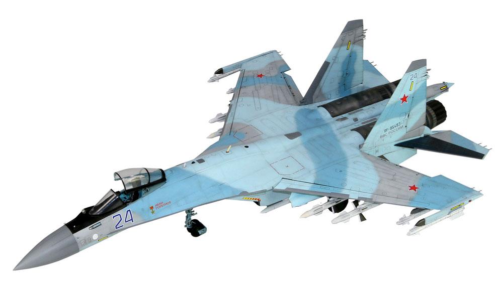 ロシア空軍 Su-35S フランカー Eプラモデル(グレートウォールホビー1/48 ミリタリーエアクラフト プラモデルNo.L4820)商品画像_3