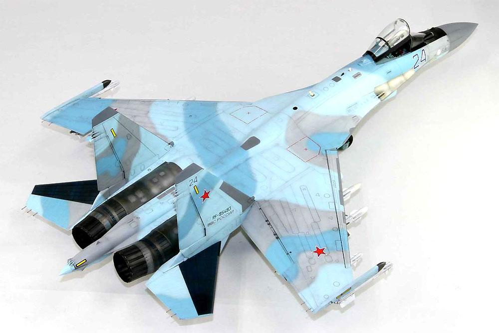 ロシア空軍 Su-35S フランカー Eプラモデル(グレートウォールホビー1/48 ミリタリーエアクラフト プラモデルNo.L4820)商品画像_4