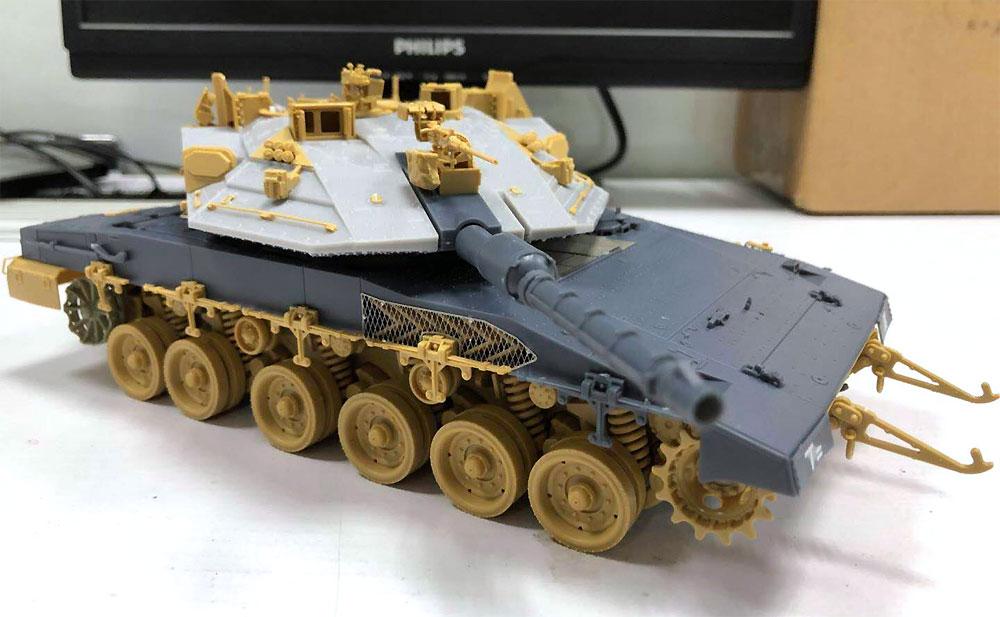 イスラエル 主力戦車 メルカバ Mk.4M w/トロフィー APSプラモデル(MENG-MODEL1/35 ティラノサウルス シリーズNo.TS-036)商品画像_2