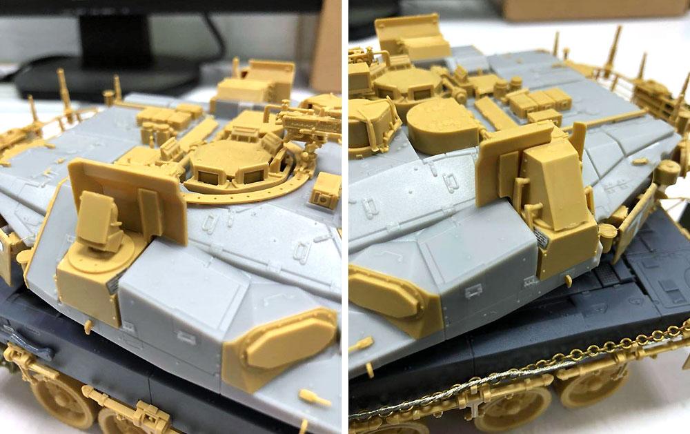 イスラエル 主力戦車 メルカバ Mk.4M w/トロフィー APSプラモデル(MENG-MODEL1/35 ティラノサウルス シリーズNo.TS-036)商品画像_3
