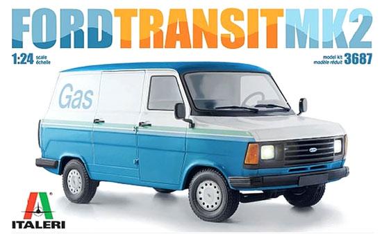 フォード トランジット Mk.2プラモデル(イタレリ1/24 カーモデルNo.3687)商品画像