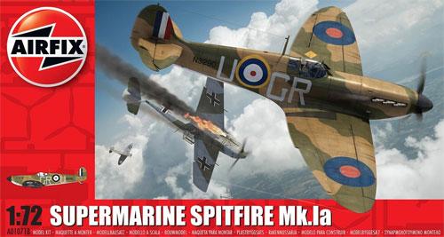スーパーマリーン スピットファイア Mk.1aプラモデル(エアフィックス1/72 ミリタリーエアクラフトNo.A01071B)商品画像