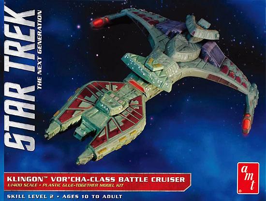 クリンゴン ヴォルチャ級 バトルクルーザープラモデル(amtスタートレック(STAR TREK)シリーズNo.AMT1027/12)商品画像