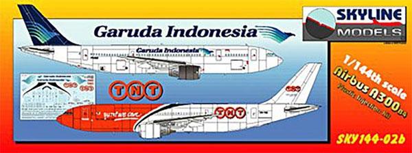 エアバス A300 B4 ガルーダ航空 / TNTプラモデル(DACOSKYLINE MODELSNo.SKY144-02b)商品画像