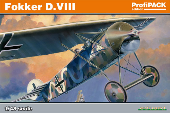 フォッカー D.8プラモデル(エデュアルド1/48 プロフィパックNo.8085)商品画像